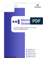 seminaire de globalisation