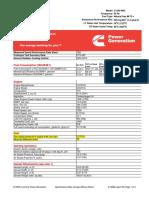 Data Sheet - c1250 n6c (Cummins 4)