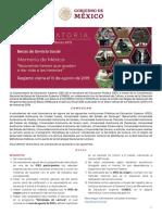 CONVOCATORIA Servicio Social Estrategia Lectura 2019