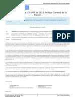 Circular Conjunta 100-004 de 2018 Archivo General de La Nación