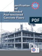 Cares Post-tensioned concrete floors