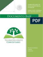 Sep (2015) Telebachillerato Comunitario