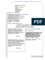 MJ Estate v HBO August 15, 2019 Filing Motion To Strike