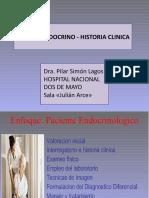 Sistema Endocrino Historia Clinica 2019