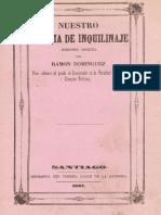 Ramón Domínguez, Nuestro sistema de inquilinaje