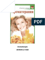 Aromaterapie sănătate și viață