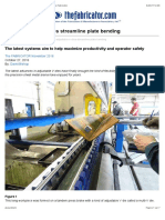 How Adjustable v Dies Streamline Plate Bending the Fabricator 1488805854