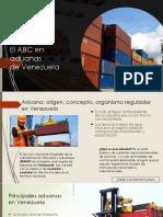 El ABC en Aduanas de Venezuela_ Carlos Luis Michel Fumero