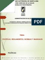 8-9 Políticas, Reglamentos, Normas- Manual Operativo, De Funciones, Procesos (1)