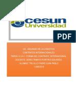 Contrato de Compraventa Internacional de Medicamentos
