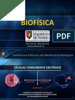 BIOF 4. Membrana Potenciais