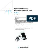 Agilent G2534A Microarray Hybridization Chamber User Guide _G2534-90004_HybridizationChamber_User