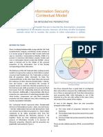 Information Security Contextual Model