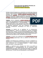 MODELO DE SOCIEDAD