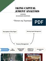 Working Capital Management Analysis preentation.pptx