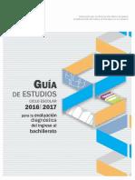 Guia de Estudios Para La Evaluacion Diagnostica 2016 2017