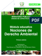 Nociones de Derecho Ambiental (1)