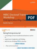 Entrepreneurship Overview