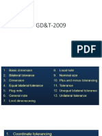 GD&T 2009 Referance Material