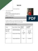 Nikhitha Resume 1