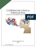 CADERNO DE LINGUA PORTUGUESA (LEITURA E INTERPRETAÇÃO DE TEXTO) - PDF.pdf