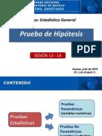 Sesión 13-14 - Prueba de Hipótesis - 2019-1 LAC