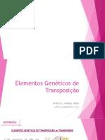 Elementos genéticos de transposição