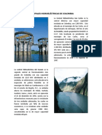 Principales Hidroeléctricas de Colombia