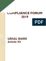Compliance Forum
