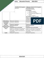 00 Agosto - 1er Grado Dosificación (2018-2019).pdf