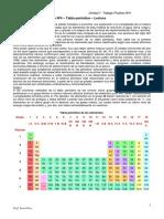 Unidad 1 Tp Nº4 – Tabla Periódica – Lectura y Actividades