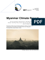 Myanmar Climate Report Final 11 Oct 2017
