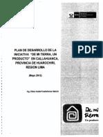 Plan de Desarrollo - Parte 1