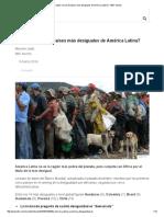 Los 6 Países Más Desiguales de América Latina - BBC Mundo