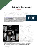 Revolution On Technology.docx