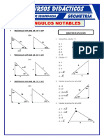 Triangulos Notables Para Primero de Secundaria