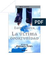 Colfer Eoin - La Ultima Oportunidad