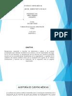 Diapositivas Auditoria de Cuentas Medicas.