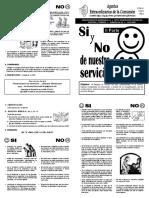 22. Si y No de Nuestro Servicio. Parte 2