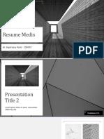 Resume Medis PPT