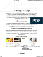 15 Excelentes Formas de Recargar Tu Energía _ Salud - Todo-Mail