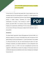 Artiìculo Traducido Carcinoma Mucoepid (Revisado)