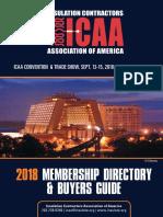 2018 ICAA Membership Directory