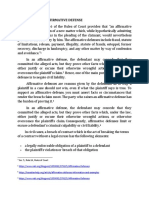SIGNIFICANCE OF AFFIRMATIVE DEFENSE.docx