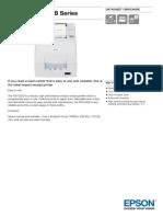 Epson TM U220B Series Datasheet