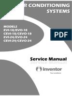 Inventor EVI EVO Service Manual 18 24000btu