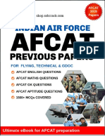 AFCAT Solved Papers 2011- 2019  eBook