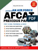 AFCAT Solved Papers 2011- 2019  eBook