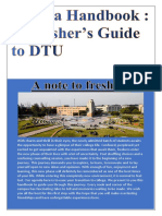 _fuccha Handbook _ a Fresher's Guide to Dtu