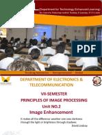 Principal of image processing - image enhancement ebook
